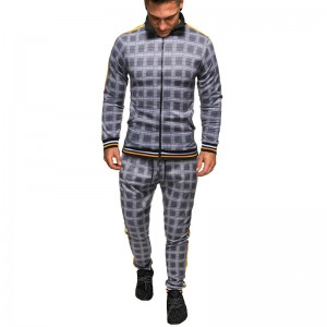 Training Suits Men Oversize Warm Long Sleeve Track Suit Custom