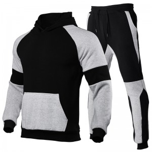 Men Training Suit Fleece Gym Sports Wholesale Oversize
