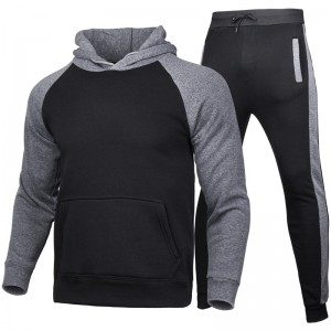 School Track Suit Running Fitness Hooded Soccer Uniform