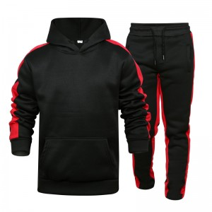 Men Jogging Suit Custom Embroidery Winter Thick Sports Factory
