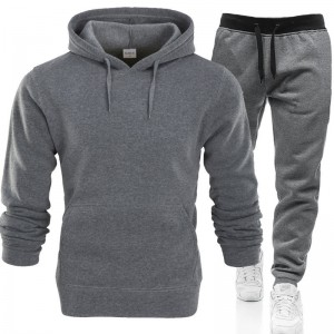 Sweat Suit Tracksuit Men Sport Training 2 Piece Plus Size Wholesale