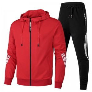 Windbreaker Tracksuit Men Winter Warm Custom Thick Athletic