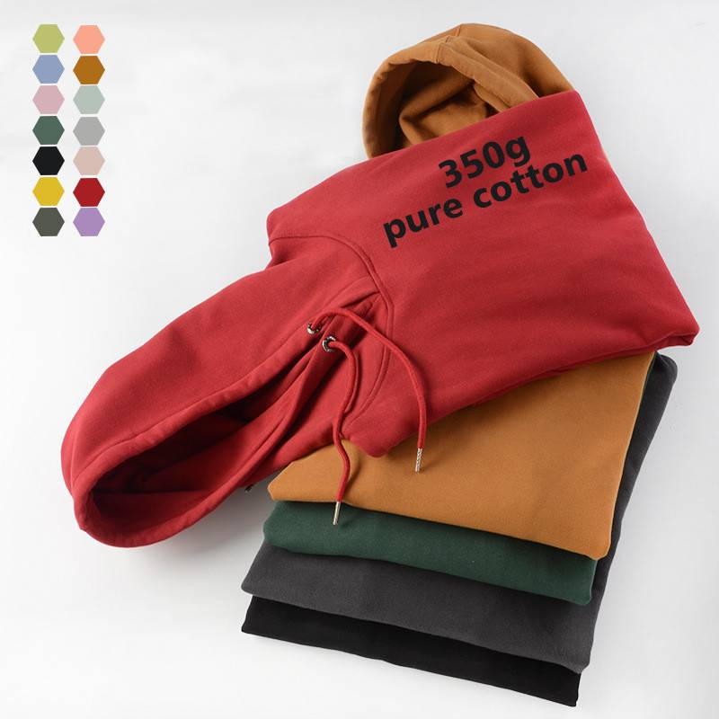 Thicken Hoody Sweatshirt Autumn Winter Pullover Oversize Dancing Sports Wear Factory Custom Featured Image