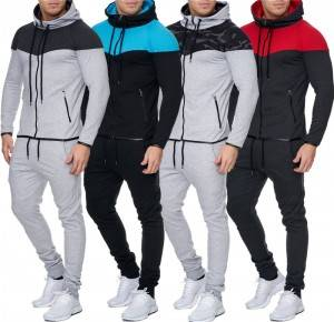 Custom Tracksuits Hooded Plus Size Warm Thick Sport Team Wear Uniform Cheap
