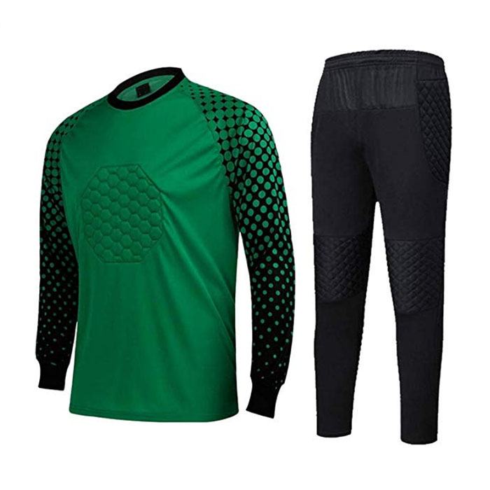 OEM manufacturer Pullover Fitted Hoodie - Men's Football Goalkeeper Foam Padded Jersey Shirt & Pants/Shorts – Westfox