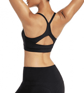 Yoga Sports Bra Shockproof Gathered Shape Sublimation Running