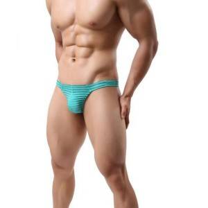 Ultra Thin Mesh Semilucent Men Thong Sexy Underwear
