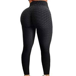 High Waist Yoga Pants Tummy Control Slimming Booty Leggings Butt Lift Workout Gym Leggings