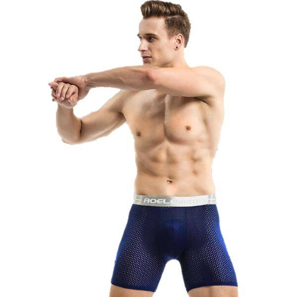 Free sample for Mens Fashion Jockstraps - Men Net Underwear Anti Wear Extra Long Running – Westfox