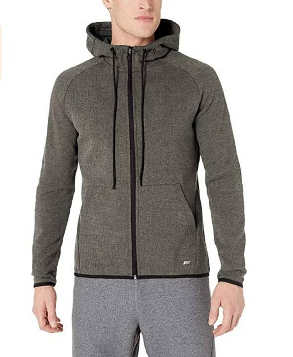 Factory selling Hoodie Cotton - Long sleeve mens tech fleece full zip active sweatshirt with hooded – Westfox detail pictures