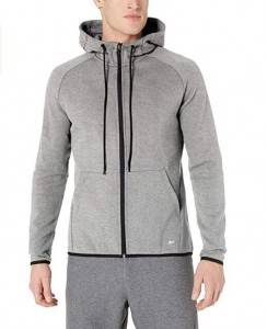 Full Zip Sweatshirt With Hooded
