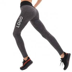 Workout Gym Leggings High Waist Custom Logo Fitness
