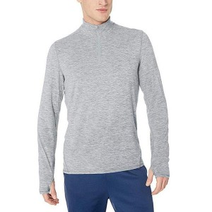 Men Quarter Zip Shirt Tech Stretch Performance