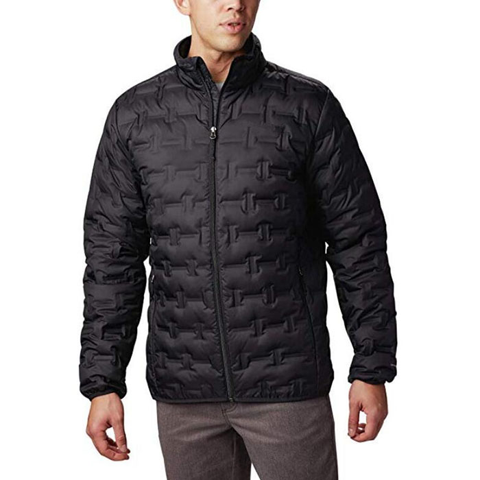 Men's Insulated Water repellent Delta Ridge Down Winter Jacket Featured Image