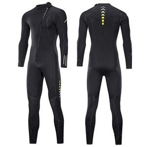 Front Zip Full Body Diving Suit