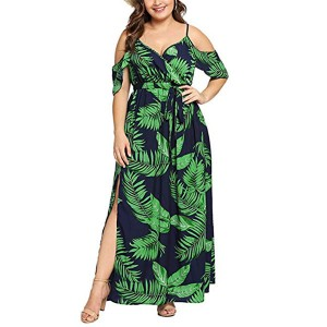 Factory wholesale Waterproof Pockets Swim Trunks - Summer Maxi Dress – Westfox