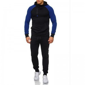 Hoodie Tracksuit Men Custom Team Sports Uniform Wholesale