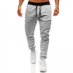 Men Sports Pants Factory OEM Casual Polyester New Design