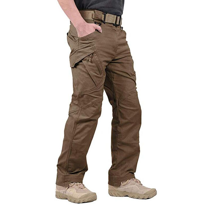 Rip-Stop Causal Cargo Pants Men Featured Image