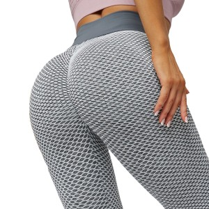 Sports Gym Leggings Plus Size Recycle Women Energy Four-Way Stretch High Waist Push Up Fitness