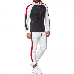 Athletic Tracksuit Men Sports Winter Thick Hooded OEM