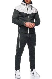 Men Track Suit for Sport Running Fitness Dry Fit Thick Plus Size