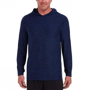 Male Sweat Shirt With Crew Neck Cotton Polyester Plain Long Sleeve