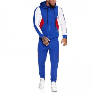 Mens Sweat Suit Sports Fitness Brand Hip Hop Custom