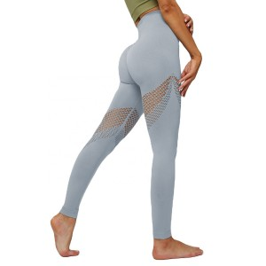 Ladies Sports Leggings Running Cycling Pants Recycle Good Breathable and Quick Dry Function
