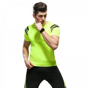 Two Pieces Set Summer Men Sport Workout Outfit Fitness Running Cothes Factory
