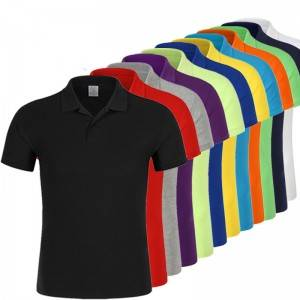 Polo Shirt Uniform Unisex 100% Cotton Short Sleeve Golf Business Outdoor Manufacturer