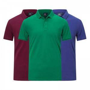 Polo Shirts Advertising Quick Dry Uniform Pique Golf Embroidery Cotton Supplier