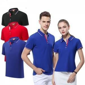 Work Polo Shirt Short Sleeve Blank Wholesale Golf Professional Manufacturer