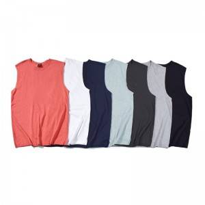 Cotton Tank Tops Men Sleeveless Plain Summer Cheap Price Manufacturer