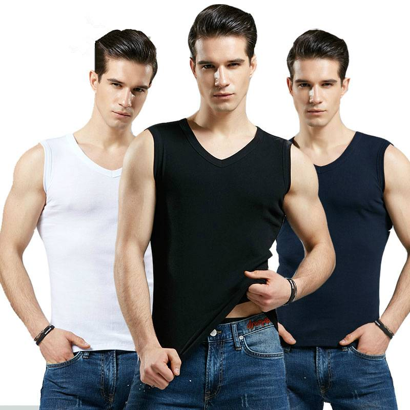 How to choose high quality tank top to fit for men?