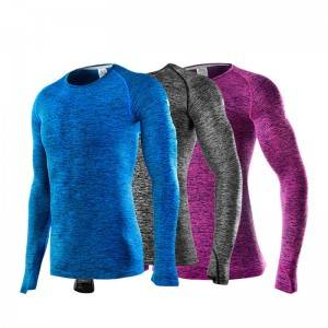 Unisex Compression Shirt Running Sport Long Sleeve Gym Factory