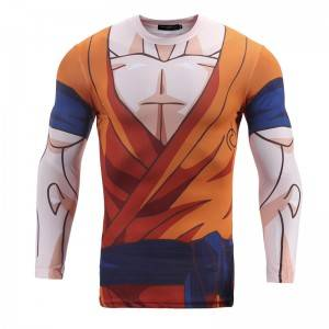 3D Printing T Shirt Men Long Sleeve Professional Compression Factory