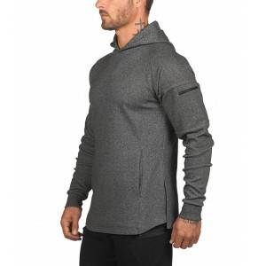 Fleece Hoodie With Pocket Manufacture