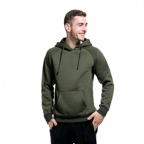 Brand Name Hooded Sweatshirt Men Drawstring Tops Featured Image