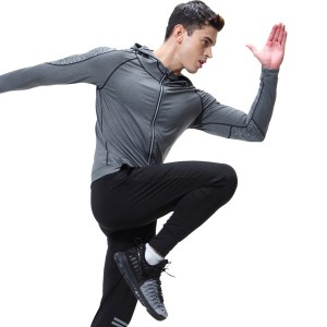 Tracksuit For Men Running Quick Dry Long Sleeve