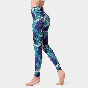 Yoga Pants Women Printed Fitness Seamless Active