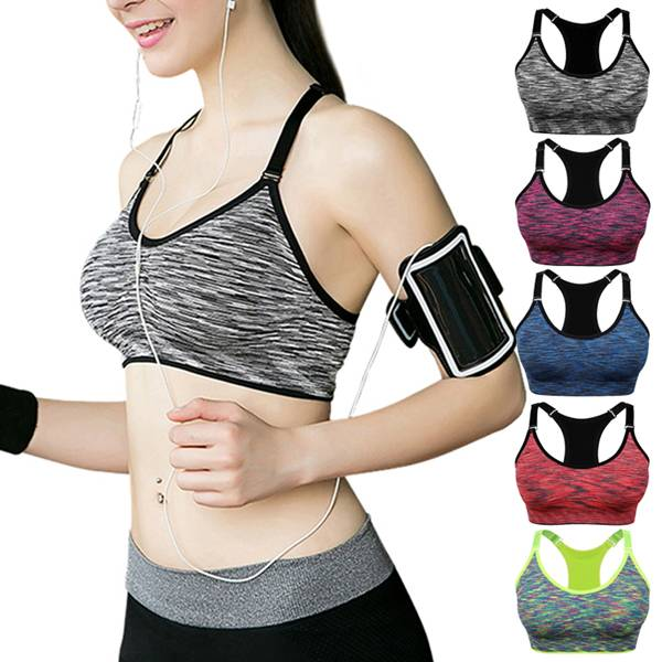 Special Price for Customised Tracksuit - Womens Sports Bra Adjustable Straps Seamless – Westfox Featured Image