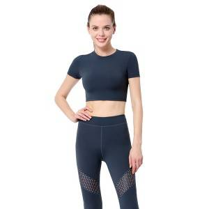 100% Original Factory Two Piece Legging Set -