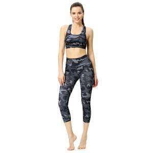 Seamless Sport Set For Women Printed Summer