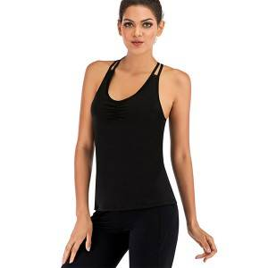 Tank Tops With Built In Bra Women Sports Clothing
