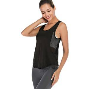 Alo Yoga Fitness Tops Running Mesh Workout