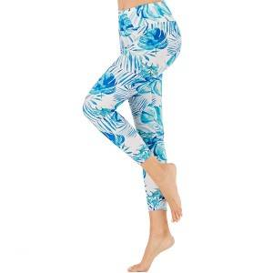 Leggings Workout Yoga Women Printed