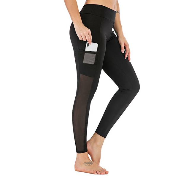 Ladies Sports Leggings with Pocket Custom Featured Image