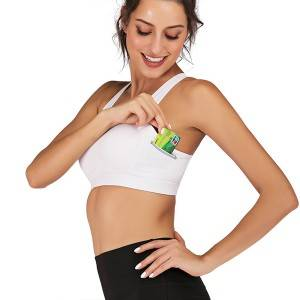 Fitness Sports Bra With Pocket Factory