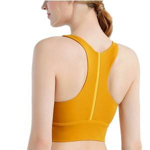 Hot Sale for China Comfortable Tight Beautiful Back Yoga Multi Running Support Crossback Sports Bra